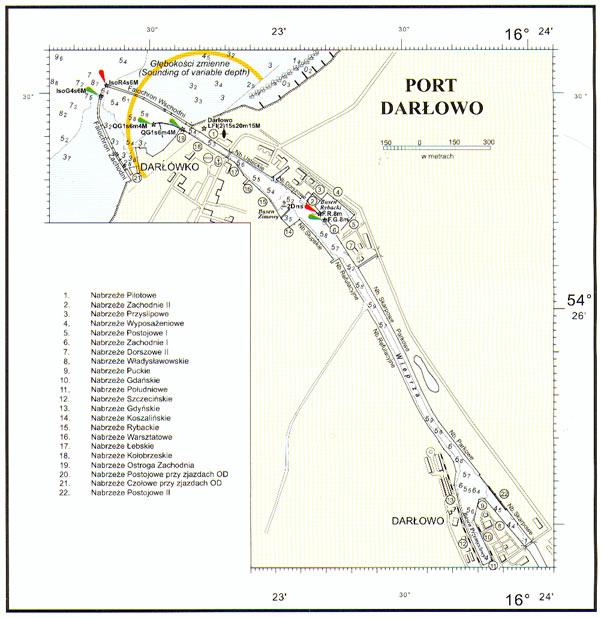 Plan Portu Darlowo